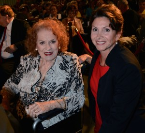 Rose with Maureen O'Hara 5 25 13