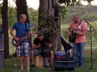 November 11, 2017: Park Sixty 3<br>Music at the Winery