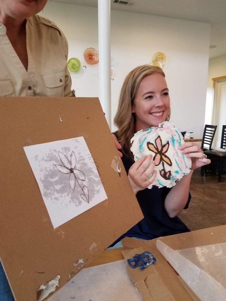 """February 10, 2019: Sunday Crafternoon<br>""""My Chocolate Valentine"""" Painting with Chocolate"""