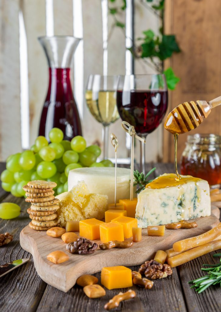 April 11, 2019: Wine & Cheese Pairing