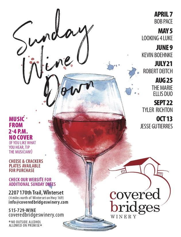 Sunday Wine Down:<br>2019 Printable Schedule