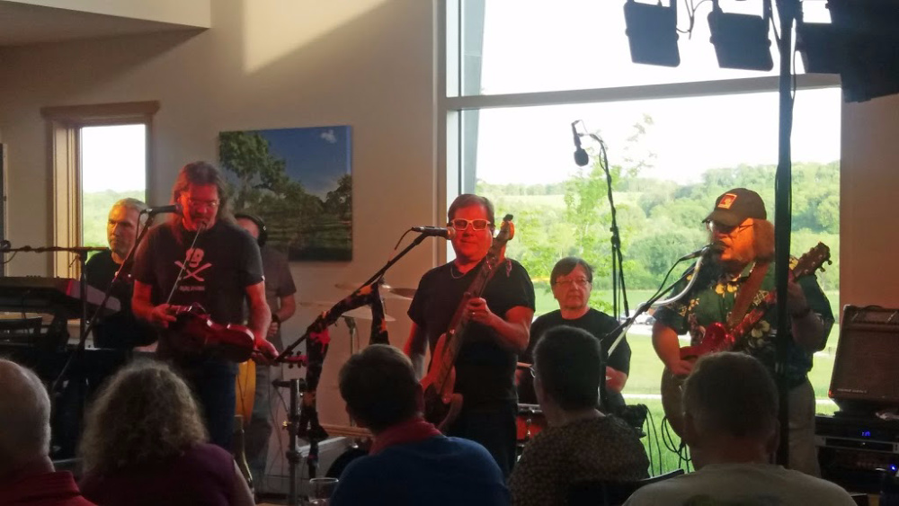 June 15, 2019: Sons of Gladys Kravitz<br>Music at the Winery