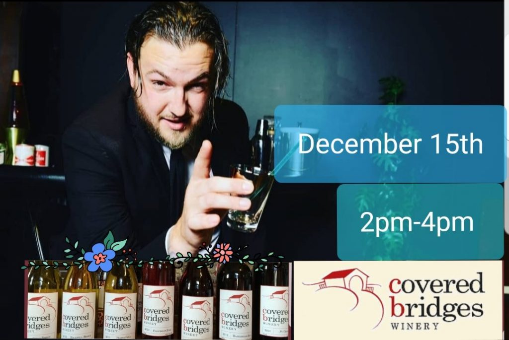 December 15, 2019: Tyler Frazier<br>Sunday Wine Down