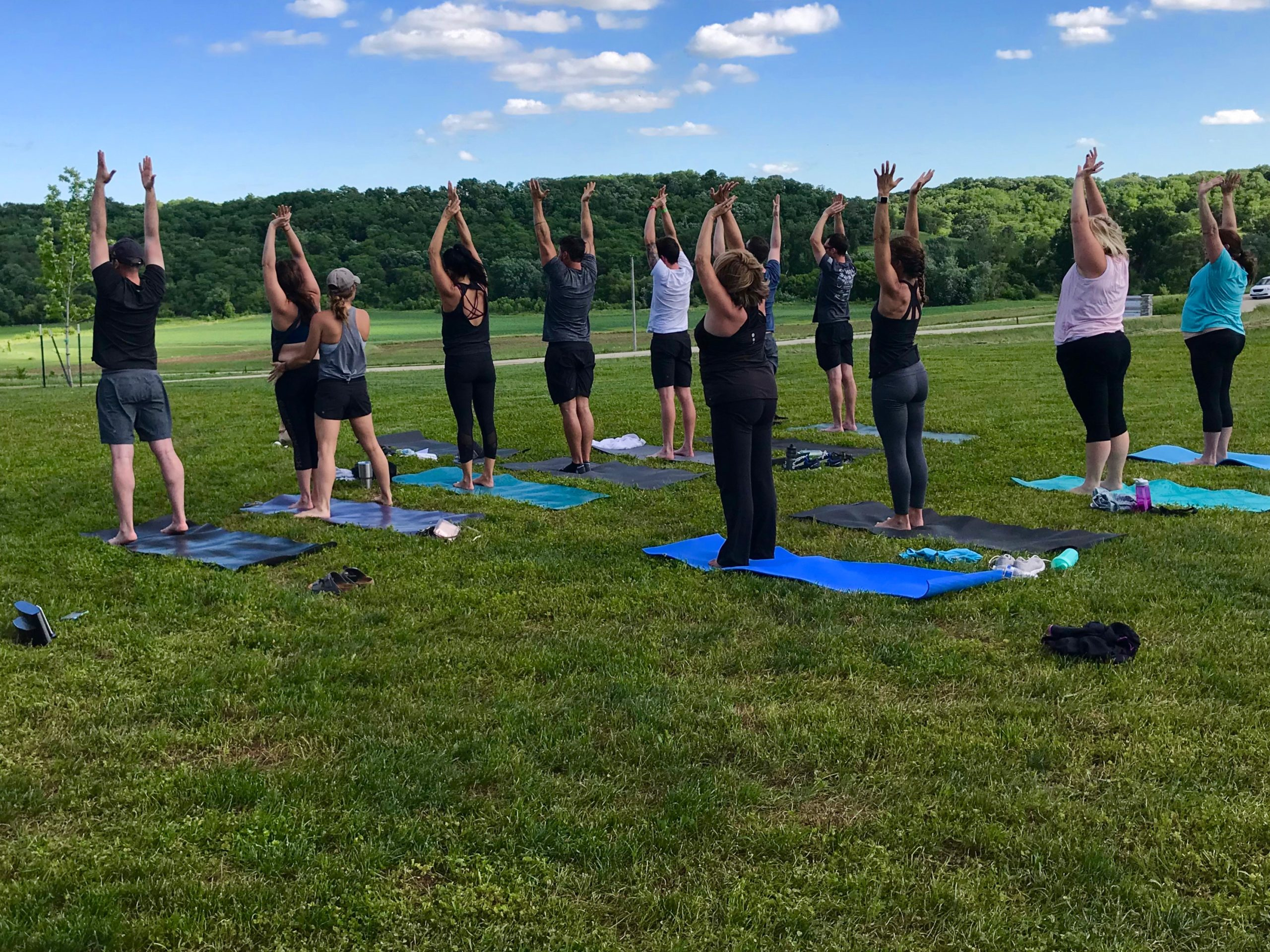 Yoga Events Covered Bridges Winery